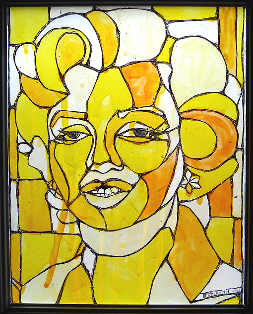 Marilyn vitrail 0r72