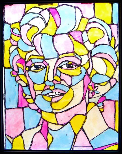 Marilyn Vitrailbleurose72